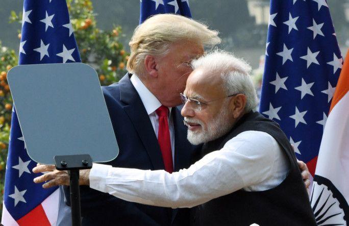 Look: Delhi burns as Indian PM Modi hosts Donald Trump and family