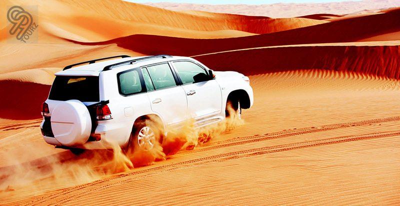 Top 5 things do in Dubai's desert